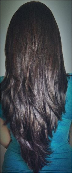 Layered Hair Cut Back View There are many different long hairstyles for those with long hair whether it is crimpy curly