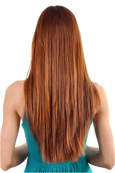 V shaped Back Ideas for Straight and Wavy Hair V ariations