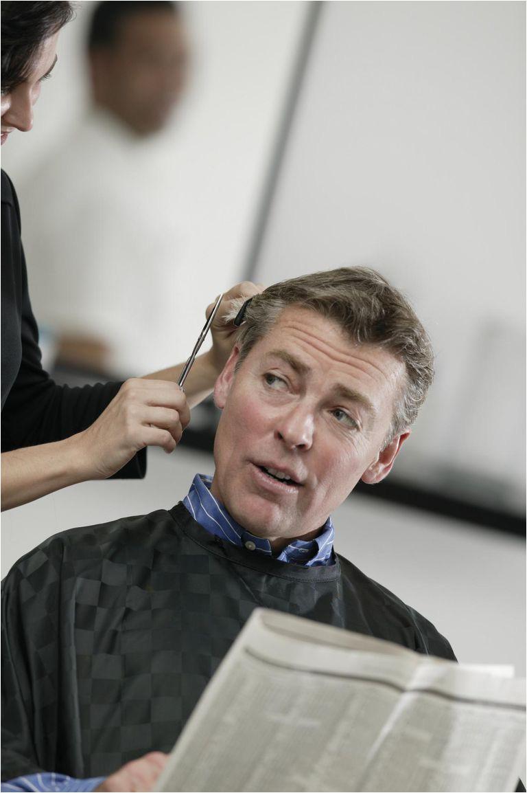 Man ting haircut
