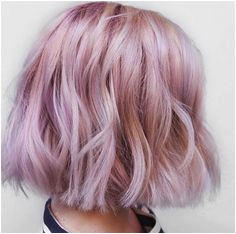 color I got the first time in April Pastel Hair Colour Short Lavender Hair