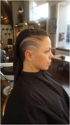 Undercut Hairstyles Women Short Hair Undercut Buzzed Hair Mohawks Shaving Short