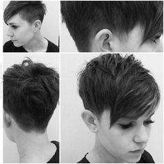 Hair cut Pixie Haarschnitt Haarschnitt Kurz Bob Frisur Kurze Frisuren Frisuren Haarschnitte