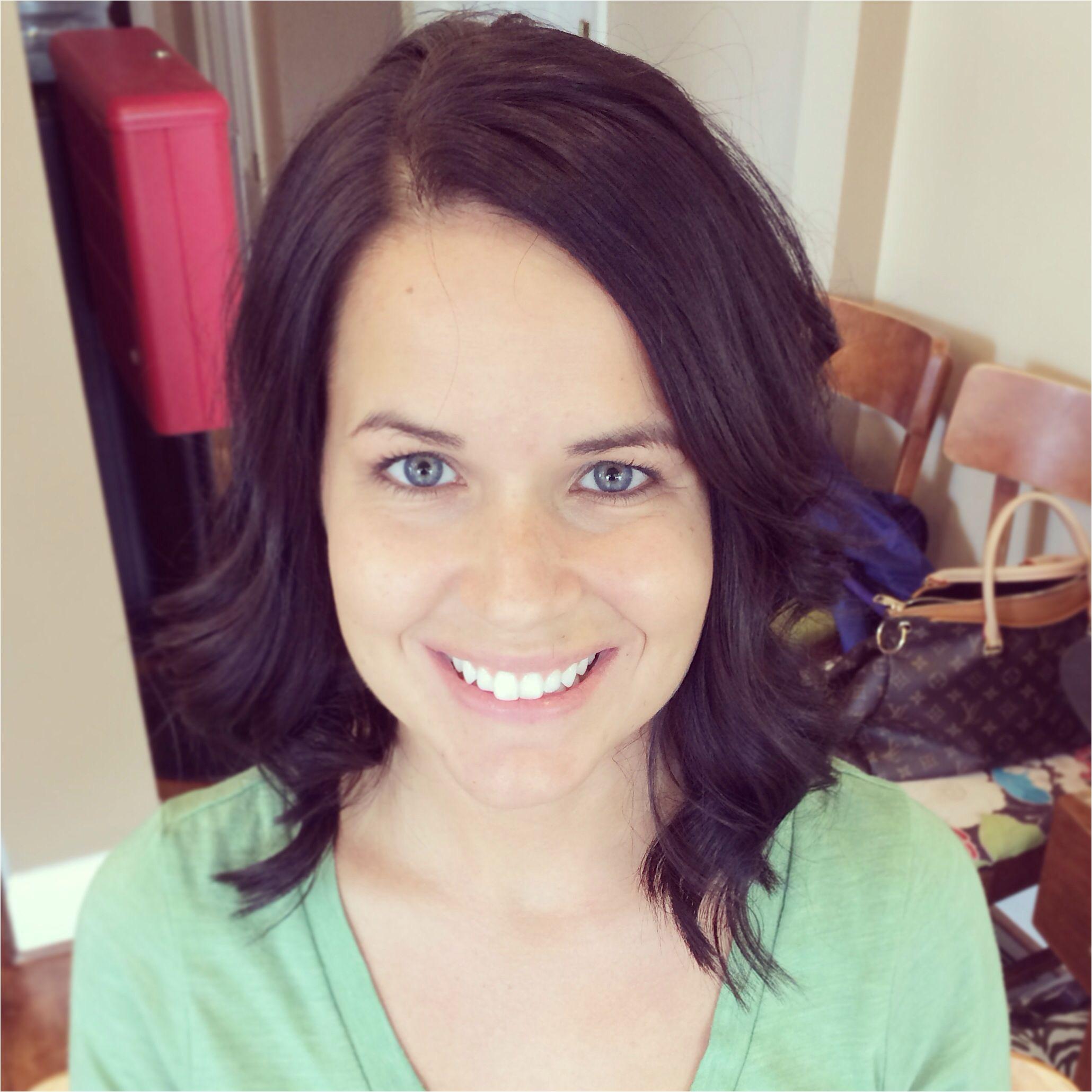 Hair medium length with layers by Natalie Land Salon 116 Richmond KY