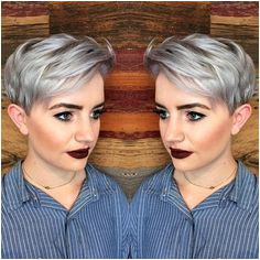 Image result for asymmetrical pixie haircuts with grey hair Grey Pixie Hair Gray Hair