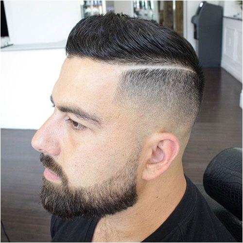 Brush Up with Hard Part and Bald Fade Hard Part Haircut Haircut Parts Haircut