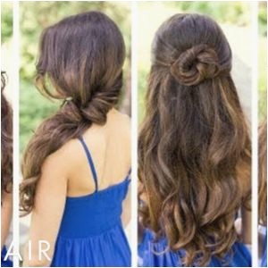Easy Hairstyles for Short Hair Dailymotion School Hairstyles for Straight Curly