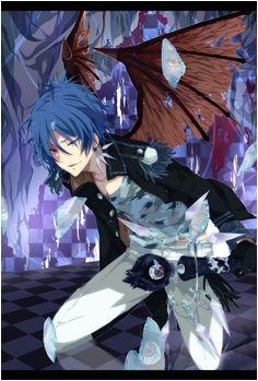 Anime boy with blue hair Blue Hair Anime Boy Boys Blue Hair Reborn Katekyo