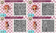 Bloody Covered Shirt Animal Crossing New Leaf QR My Animal Animal Games Gato