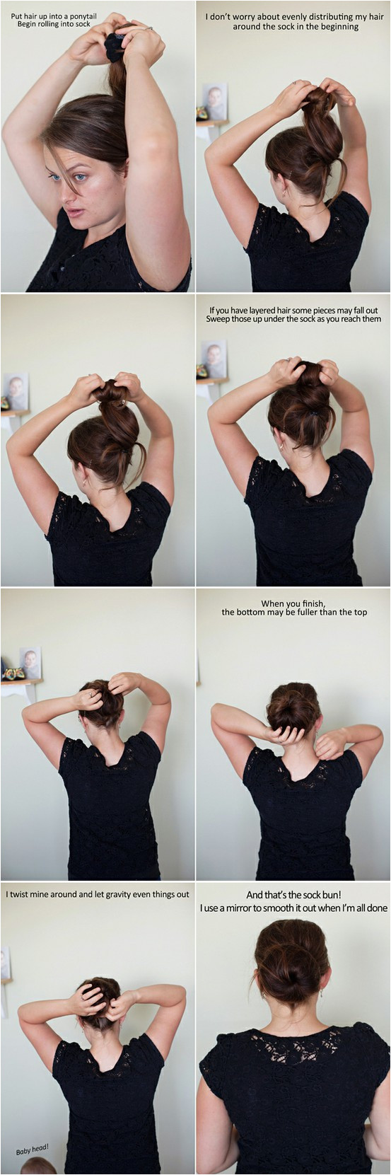 do this with wet hair and overnight you will have curls