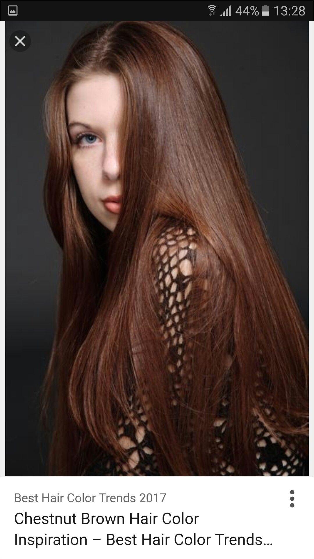 Trending Hair Color 2019 Awesome Pin Od Ania Mc Na Hair Auburn Chestnut Kasztan graph