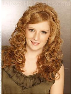 15 Curly Hairstyles for Summer Zest Up Your Look Long Curly Wedding HairLong
