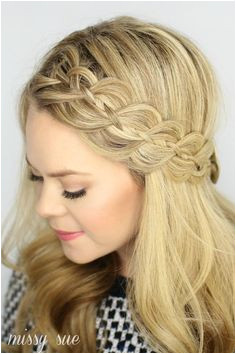 four strand headband braid ft 12 Holiday Hairstyles Corporette · Work Appropriate Hairstyles