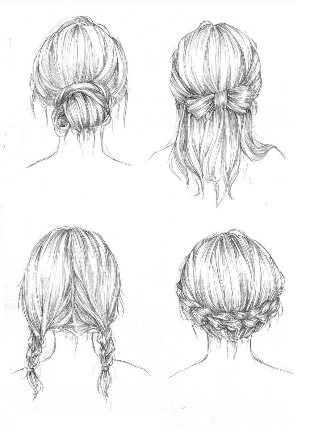 drawing art hair girl people female draw boy human guy hairstyles male reference tutorial chick references fucktonofanatomyreferences •