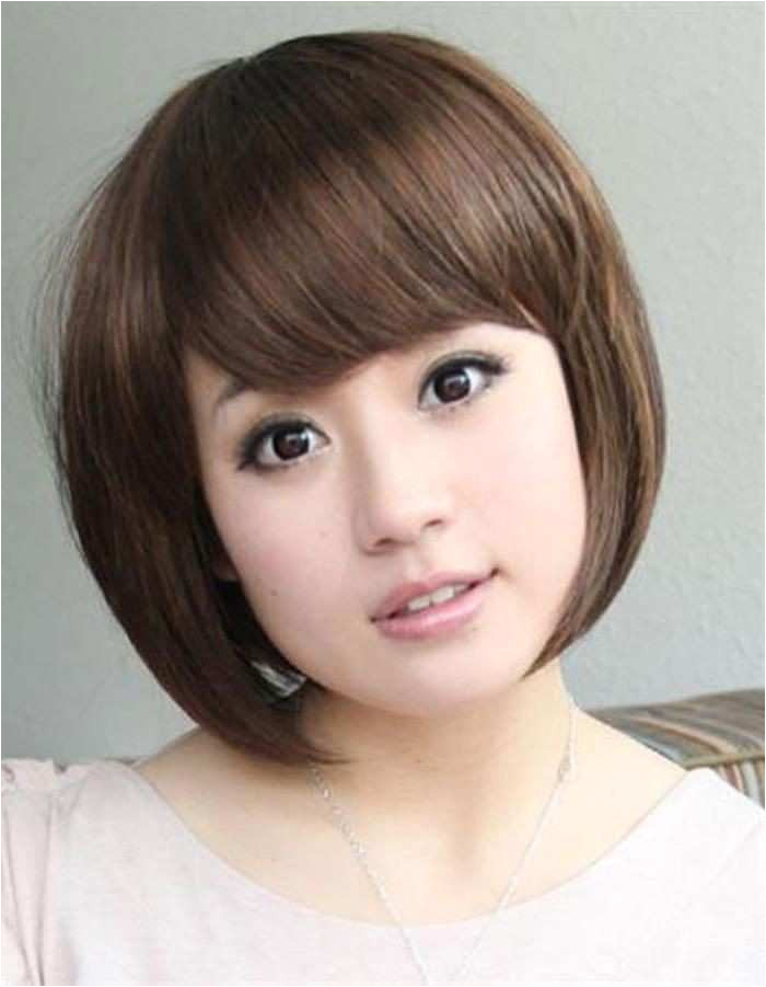 Short Asian Hair Women Luxury Hairstyle For Round Chubby Asian Face Hair Pic