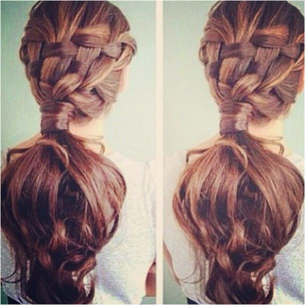 Hairstyles Basket Weave Basket Weave Braid Hair & Makeup Pinterest
