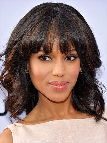 Kerry Washington s shoulder length look and other black celebrity hairstyles we love hair courtesy of Getty