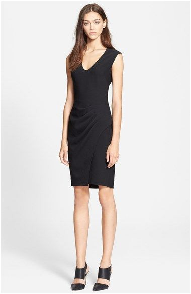 L AGENCE Side Pleated Dress available at Nordstrom