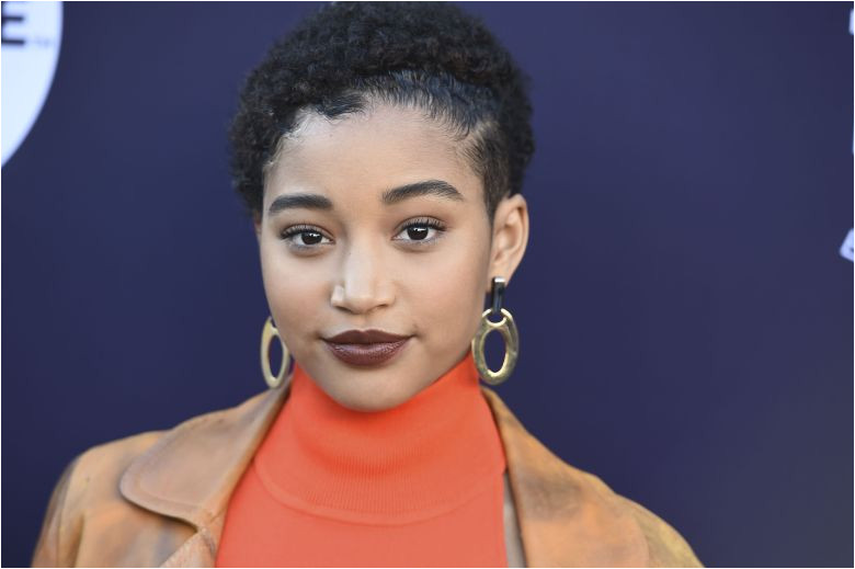 Amandla Stenberg arrives at The Hollywood Reporter s Women in Entertainment Breakfast at Milk Studios in
