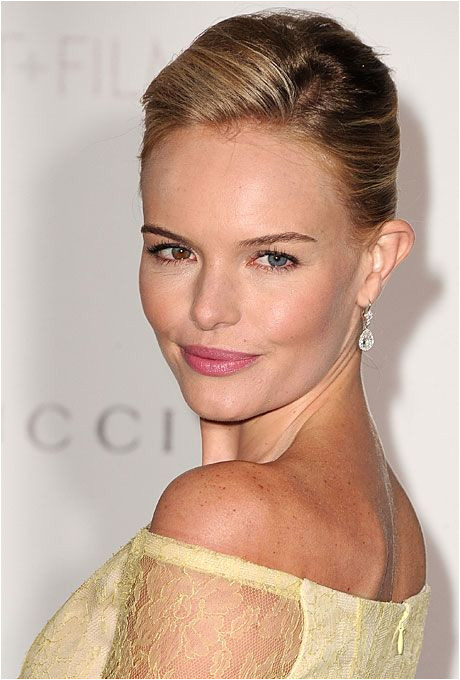 Brides 25 Wedding Hairstyles Inspired by Celebrities Kate Bosworth s French Twist Kate Bosworth s chic French twist feels formal enough for a black