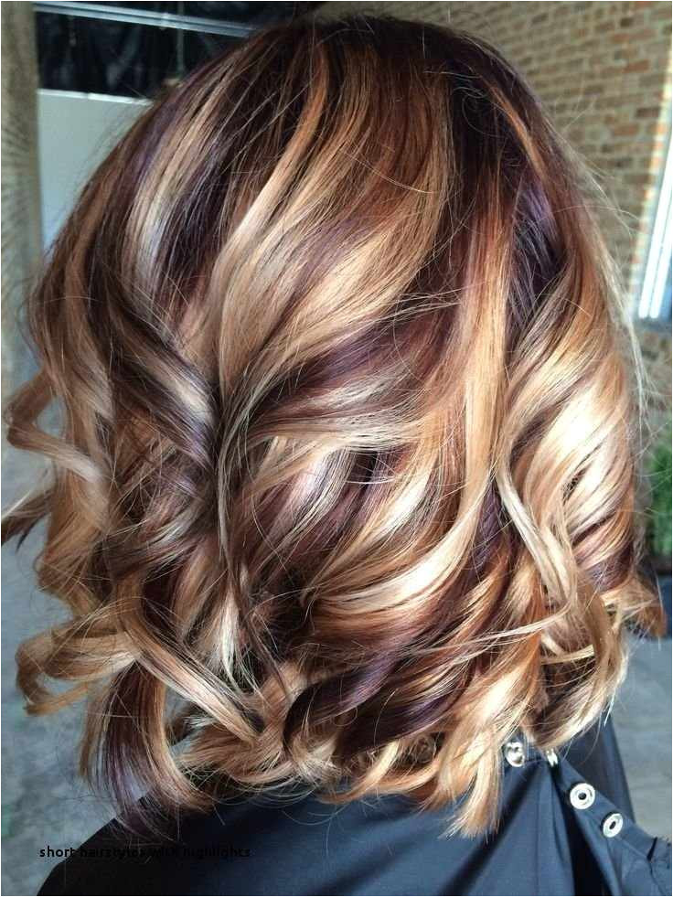 Blonde Hair with Brown Highlights Hairstyles Best Short Hairstyles with Highlights Brunette Hair Color Trends