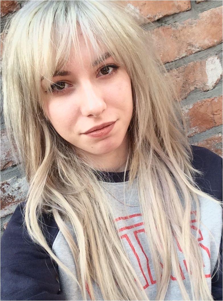 fringe blonde longhair vans bangs Bangs Long Hair Styles