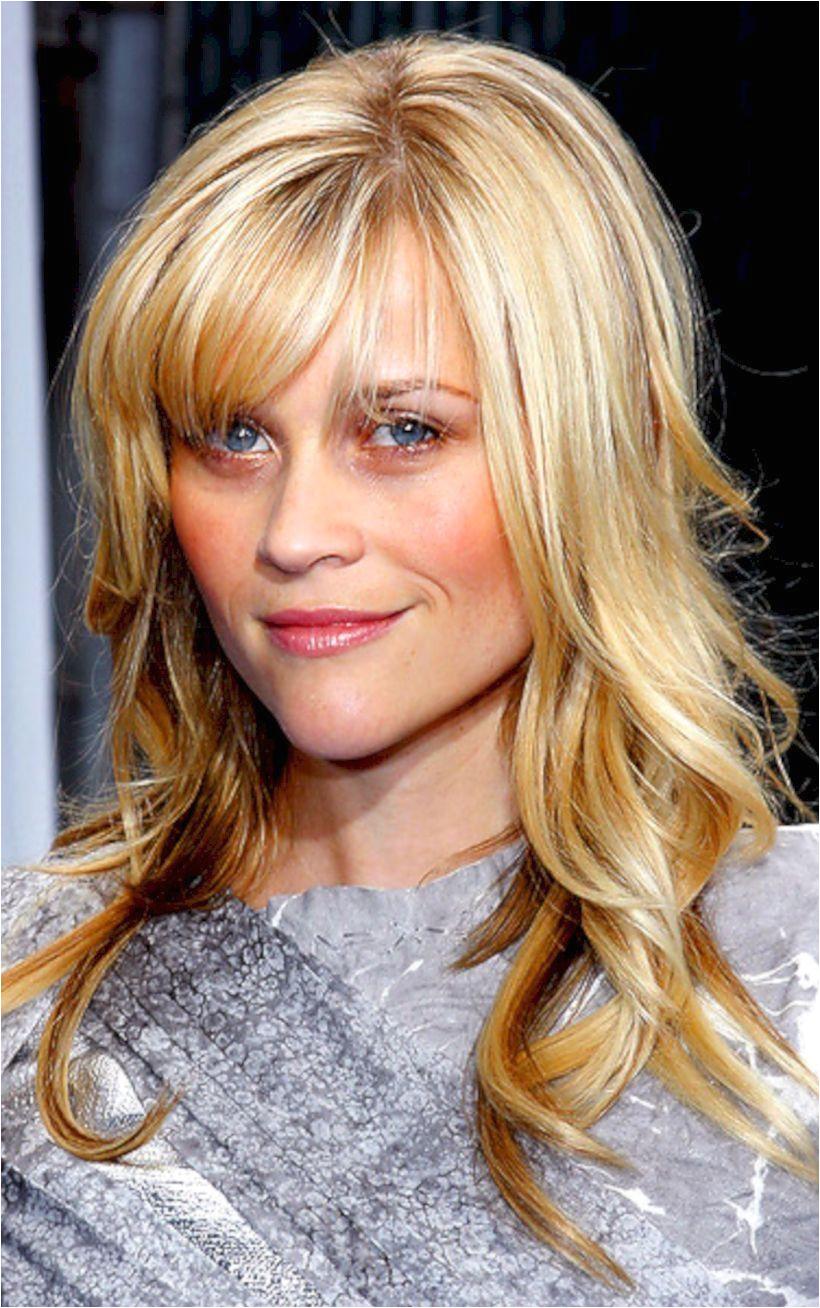 Blonde Hair Blonde Bangs Wavy Hair Long Layered Haircuts Layered Hairstyles