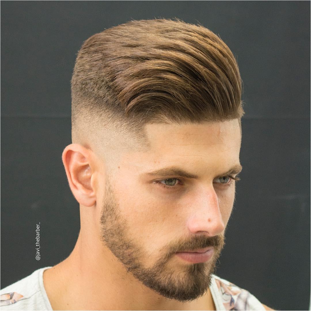 High Skin Fade Haircut Awesome Blending Short Hair
