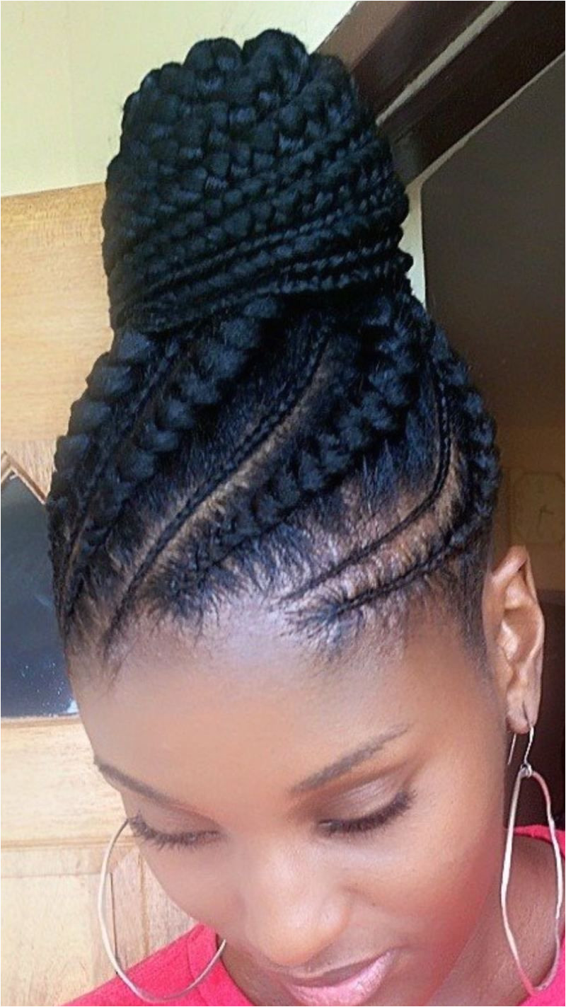 ALL HAIR MAKEOVER African ponytail cornrow Cornrows In A Ponytail Cornrow Updo Hairstyles