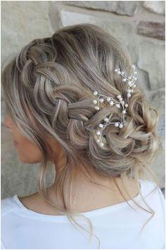 Beautiful wedding hairstyle inspiration Wedding Updo With BraidBridesmaid Hair