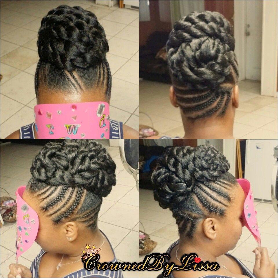 Quick Braid Updo Black Hair Updo Hairstyles Gorgeous Hairstyles Black Girls Hairstyles Natural