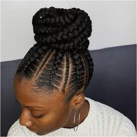 Hairstyles Braids with Hair Up Stunningly Cute Ghana Braids Styles for 2018 Beauty