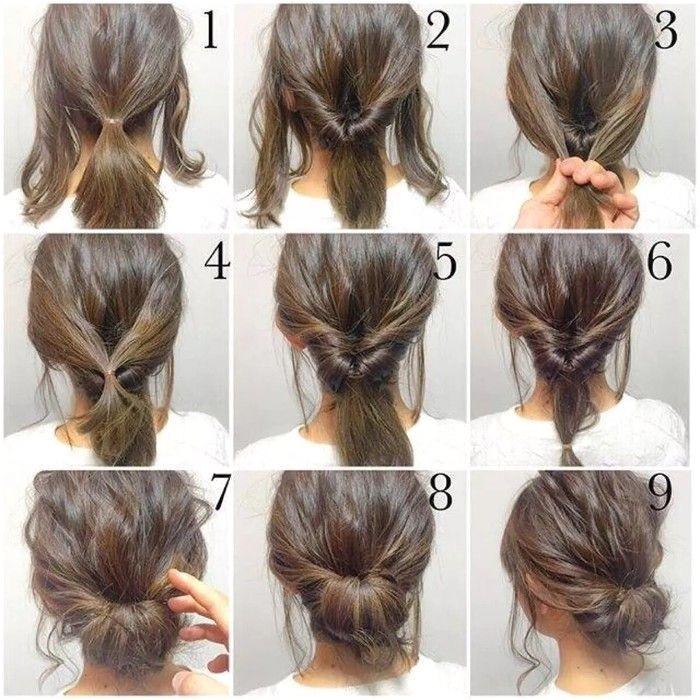 Frisuren Top Bun Hairstyles
