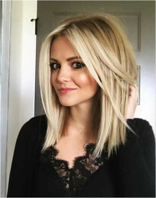 Stunning 2018 Hairstyles For Medium Layered Hair Also Shoulder Length Hairstyles With Bangs 0d Improvestyle Particularly