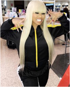 """ficial Kendrasboutique Page™ on Instagram """"Real Life China Doll🎎🎏 Our HairBarb BlacChyna Is Rocking This Chinese Bang Hairstyle Using Our Platinum"""