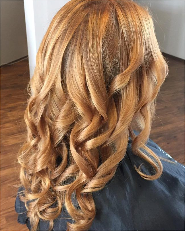 Copper Blonde Foilyage