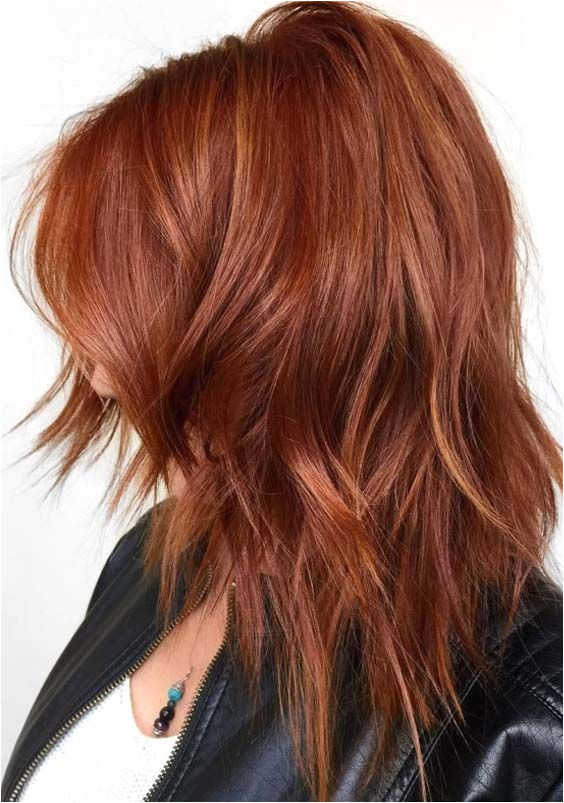 Check out the best styles of deep copper hair color ideas and redhead styles worn by the famous celebrities around the world The given red hair colors are