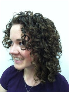 Curly girl cut is done on dry hair and then restyled and edited robinsjoblomhair