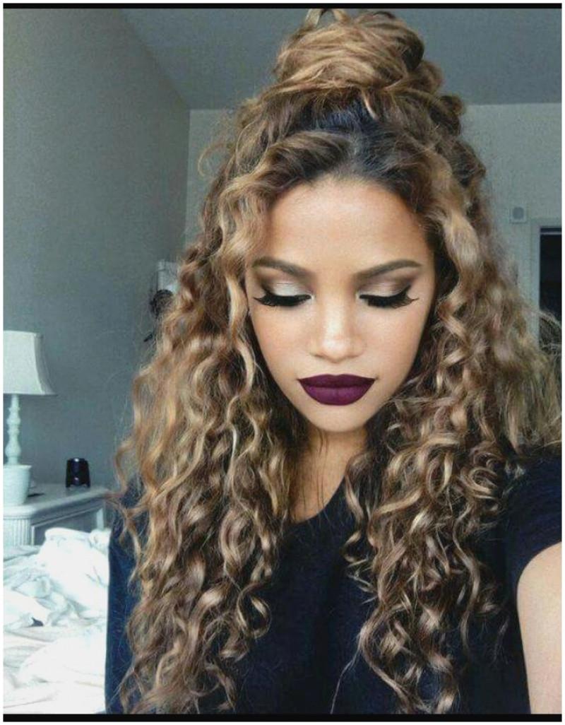 Hairstyles Curly Long Hair 2019 Cute Cute Curly Hairstyles