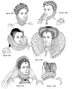 Hairstyles During Elizabethan Era 12 Best Shakespeare S Time Images