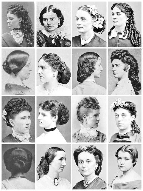 In the Victorian Era the women would tend to have their hair in a curly up do These are a few different hair styles that i vision Cecily wearing