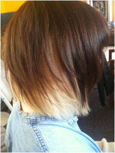 Really cute length light choppy layers David Connelly · Under Colored Hair