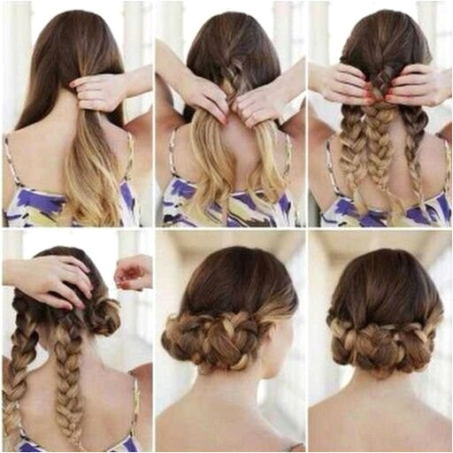Easy Updo Hairstyles Beautiful Easy Updo for Long Hair Media Cache Ak0 Pinimg 736x 0b 0d