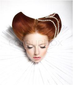 Fairy Tale Elizabethan Hairstyle Fantasy Vintage Hairstyles 2015 Hairstyles Unique Hairstyles Victorian