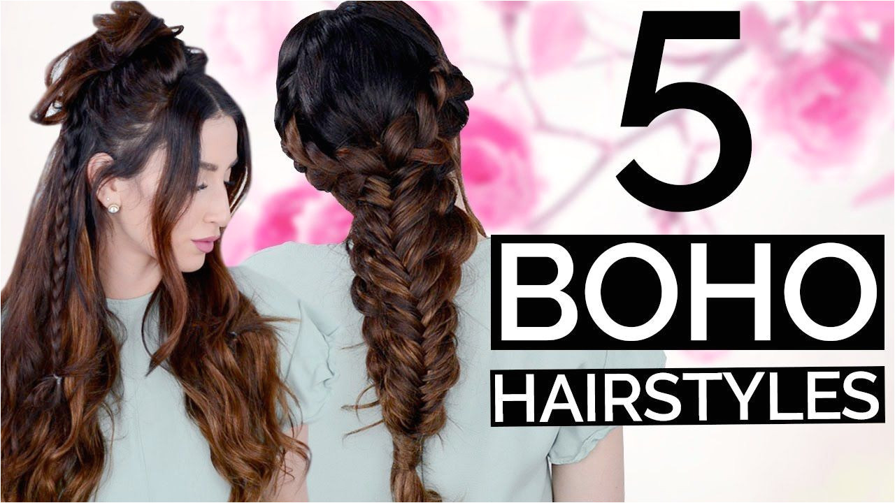 5 Spring Boho Hairstyles Every Girl Should Know BraidedHairstyleStepByStep