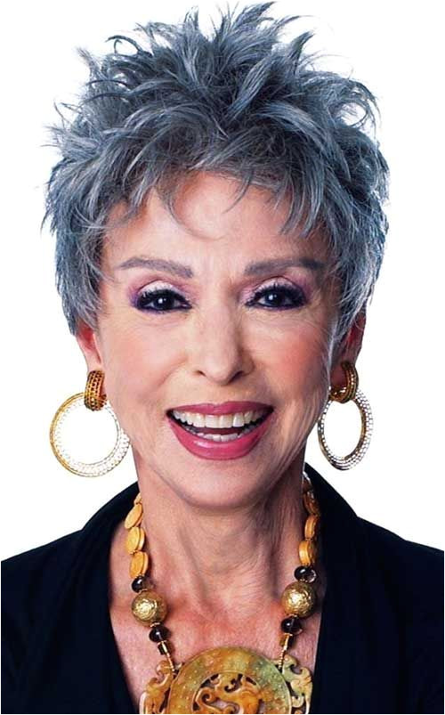 funky hairstyles for older women …