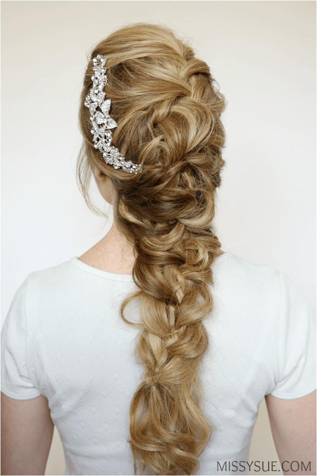 bride hairstyle tutorial 2