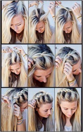 Imagem embutida Easy School Hairstyles Quick Easy Hairstyles Hairstyles For Concerts Heatless Hairstyles