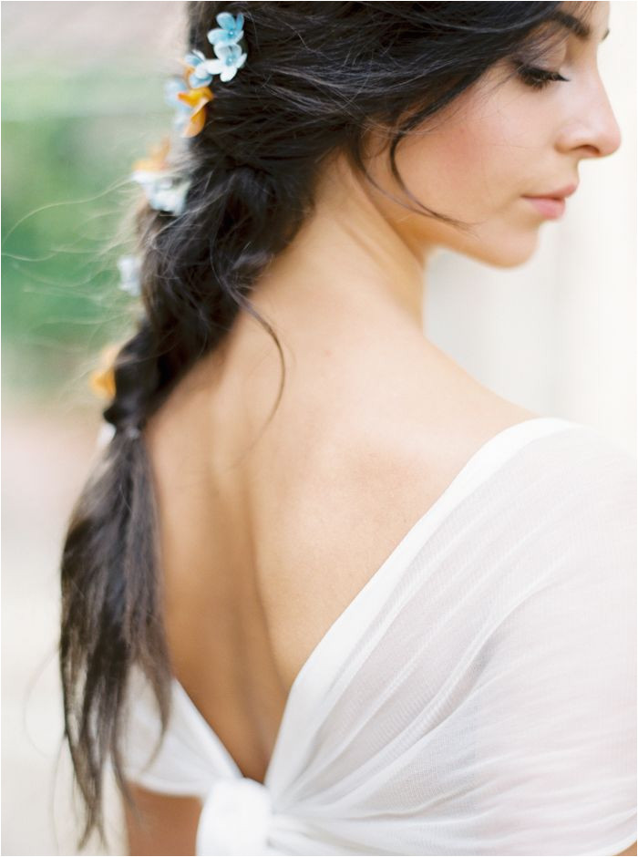 Elegant Dresses · This lovely braid is a perfect wedding hairdo for a boho feel but looks just