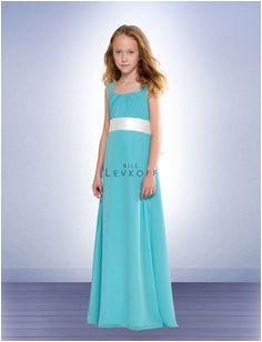 Bill Levkoff Junior Bridesmaids and Flower Girls Junior Bridesmaids Empire Bridesmaid Dresses Designer