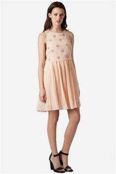 Topshop Beaded Popover Dress Juniors by TOPSHOP on nordstrom rack Rustic Wedding Chic